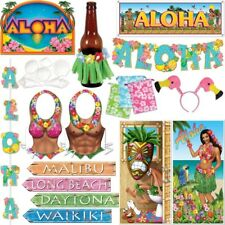 Aloha Hawaii Décoration Motif fête South Lake hawaïenne été Surfeur Kit Déco