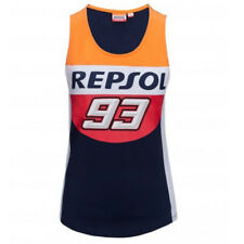 Honda Repsol Marc Marquez 93 Moto GP Panel Donne Tank Top Blu Ufficiale 2018