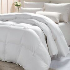 NEW White 85% Goose Feather & 15% Down Duvet Quilt LUXURIOUS - ALL TOGS+ALL SIZE