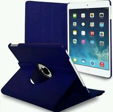 LEATHER 360 DEGREE ROTATING CASE COVER FOR I PAD PRO 12.9 IN VARIOUS COLORS
