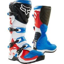 FOX Comp 5 Botas enduro motocross 2018 - Azul Rojo MOTOCROSS ENDURO MX Cross