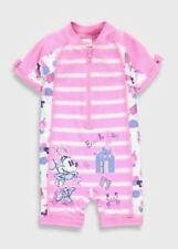 BRAND NEW DISNEY MINNIE MOUSE ALL IN ON SWIMSUIT Age 6-9   12-18 months UVA/UVB