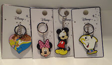 Primark Disney Beauty And The Beast; Chip; Minnie and Mickey Key Ring Brand New