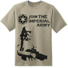 Stormtrooper Star Wars Imperial MILITARE T Shirt Stampa enorme S 3XL The Last