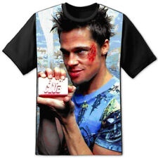"Fight Club Brad Pitt "" Jabón "" Panel Camiseta Tyler Durden Proyecto Mayhem"