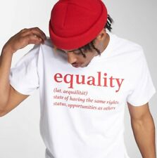 Mister Tee Uomini Maglieria / T-shirt Equality