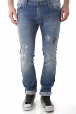 63470jeans uomo absolut joy absolut joy uomo jeans con chiusura frontale co…