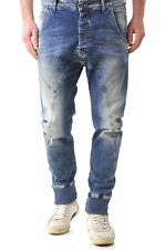 64544jeans uomo absolut joy absolut joy uomo jeans con zip e bottoni effett…