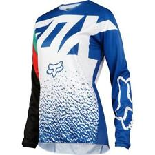 FOX WOMENS 180 JERSEY MOTOCROSS DONNA JERSEY 2018 - BLU MOTOCROSS ENDURO MX CRO
