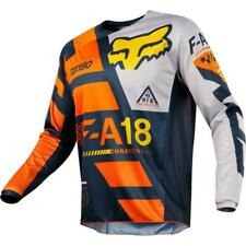 Fox 180 sayak Jersey Kids MOTOCROSS Kleinkinder JERSEY 2018 - ORANGE MOTOCROSS E