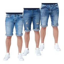 Danger Herren Jeans Short Stonewashed washed kurze Hose Sommer Denim Stretch