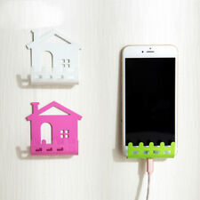 Cell Mobile Phone Shelf Wall Holder Sticker Stand Adhesive Charging Rack