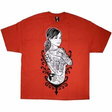 Famous Stars and Straps Shes famous Mens T-Shirt Red