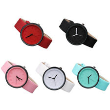 Women Men Bracelet Stainless Steel Unisex Dial Analog Quartz Wrist Watch New