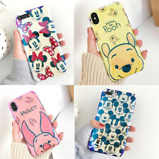 Cute Disney Winnie pooh piglet Glossy tpu case cover for iphone X XS Max XR 7 8+