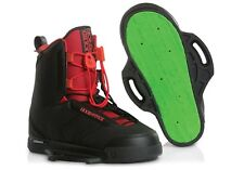 liquid force HITCH closed toe wakeboard bindings wakeboard boots black red NEW