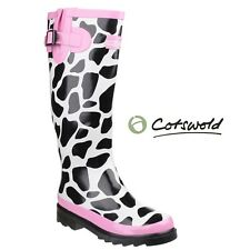 Cotswold Ladies MOO Adjustable Wellington Boots |3-8|