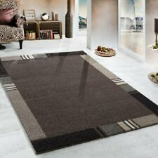 Large Quality Carpet Heavy Thick Rug Designer Brown Beige Grey Mat Hall Runner