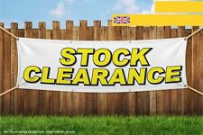 Stock Clearance Business Shut Down Closing Reduc Heavy Duty PVC Banner Sign 3281