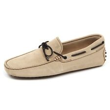 E3644 mocassino uomo light beige TOD'S scarpe laccetto suede shoe loafer man