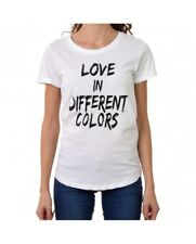 HAPPINESS T-SHIRT MANICA CORTA DONNA LOVE IN