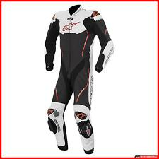 Alpinestars Motorcycle Suit Skin Atem White Black Red Entire Hump Track SALE