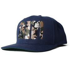 AM AFTERMIDNIGHT NYC WOODLAND CAMO EMBROIDERED 6PANEL CAP NAVY ONE SIZE FITS ALL