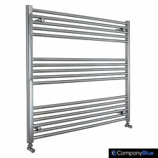 1000mm Wide Chrome Towel Rail Rad Central Heating Bathroom Radiator 800mm x NEW