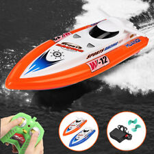 HUANQI 951B 2.4G 4CH 40CM 15KM/H RACING RC BOAT WITH DOUBLE MOTOR ELECTRIC SHIP