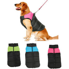 Waterproof Pet Dog Puppy Coat Vest Jacket Winter Insulated Quilted Padded Puffer