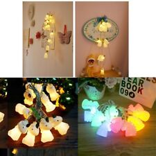 10 LED Battery Power Licorne Fairy String Lights Party Wedding Home Decor Kids