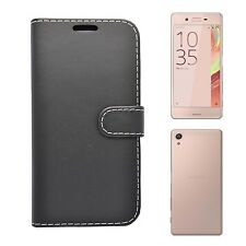 FOR SONY XPERIA XA WALLET BOOK FLIP IN VARIOUS COLOURS COVER CASE