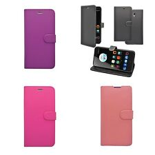 For ZTE Blade V7 Wallet Book Flip In Various Colours Cover Case