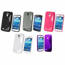 FOR SAMSUNG GALAXY S4 S-LINE SILICONE GEL AND SCREEN PROTECTOR COVER CASE