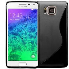 FOR SAMSUNG GALAXY ALPHA S-LINE SILICONE GEL CASE COVER
