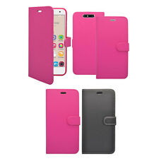 For ZTE Blade V8 Wallet Book Flip In Various Colours Cover Case