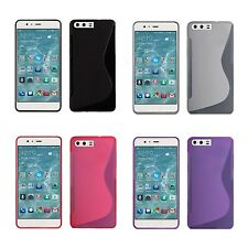 FOR HUAWEI P10 PLUS S-LINE SILICONE GEL COVER IN VARIOUS COLOURS COVER CASE