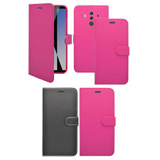 For Huawei Mate 10 Pro Wallet Book Flip In Various Colours Cover Case