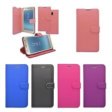 FOR SAMSUNG GALAXY J3 2017 WALLET BOOK FLIP IN VARIOUS COLOURS COVER CASE