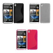 FOR HTC DESIRE EYE TPU S-LINE SILICONE GEL CASE COVER