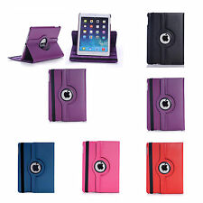 For Apple iPad 2018 9.7 Various Colour PU Leather 360 Degree Rotating Cover Case