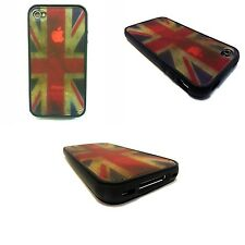 Vintage Union Jack Stampa POSTERIORE DURO PER APPLE IPHONE 4/4S