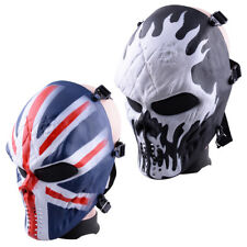 Airsoft Paintball Full Face Skull Skeleton Protective Mask Tactical Military