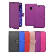 For Samsung Galaxy S9 Wallet Flip In Various Colours Cover Case