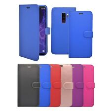 For Samsung Galaxy S9 Plus Wallet Flip In Various Colours Cover Case
