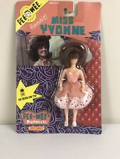 Pee-Wee's Playhouse Action Figure-Poseable Miss Yvonne-Never Opened - 1988