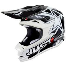 JUST1 CASCO MX J32 Pro Moto X - BIANCO MOTOCROSS ENDURO MX Cross