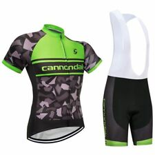 NEW 2018 Cannondale Replica Cycling Jersey and Bib Short Set Racing Pro