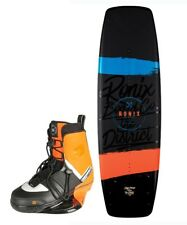 2018 Ronix District 143 NOMAD barco wakeboard Paquete - COMPLETO