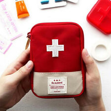 Portable Home Travel Camping Medical Bag Emergency Survival First Aid Kit Bag